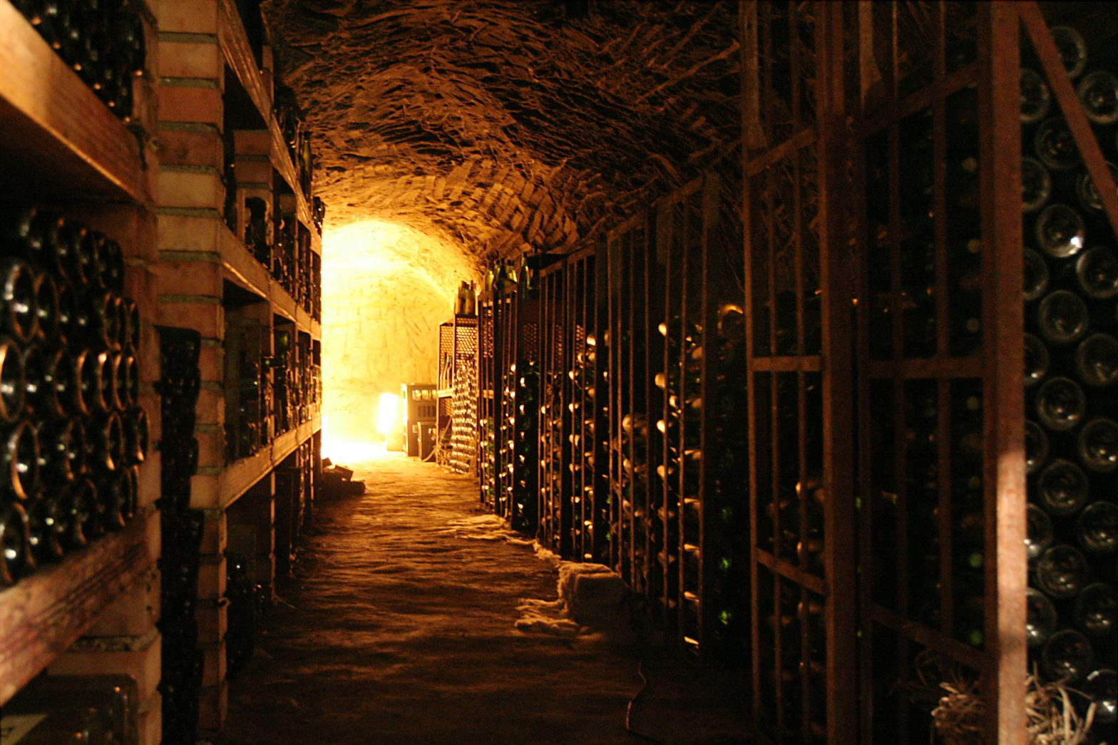 Wine Cellar Funded by Investors